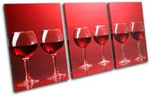 Wineglass red Food Kitchen - 13-0485(00B)-TR21-LO
